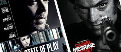 Podcast-gjengen her på Montages har denne gang sett State of Play, den første Jacques Mesrine-filmen, og mye annet skøy.