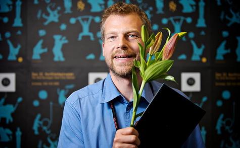 Johan Palmgren, co-regissør av <em>Anders & Harri</em>