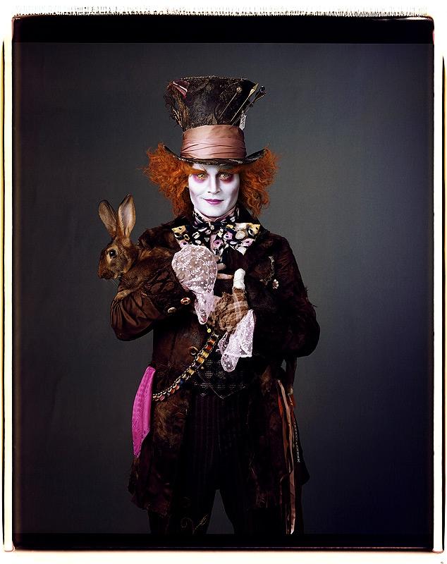 Johnny Depp som Den Gale Hattemakeren