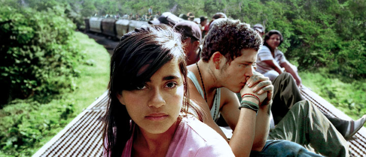Inn i Sin Nombre, på tvers av Mexico