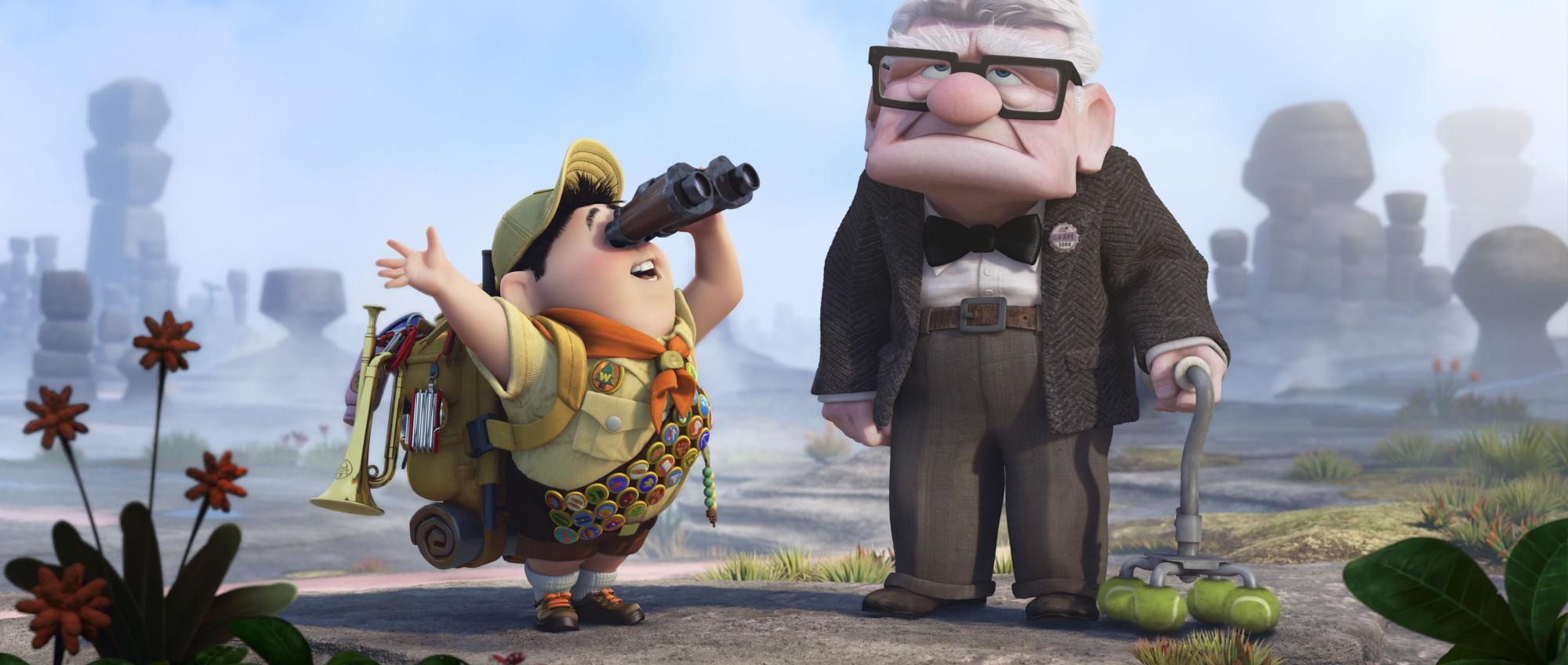 Up – med Pixar på den smale sti