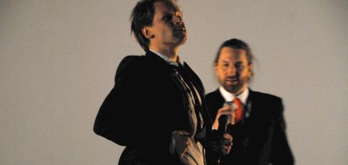 Espen Eckbo og Steinjo Grieg Halvorsen
