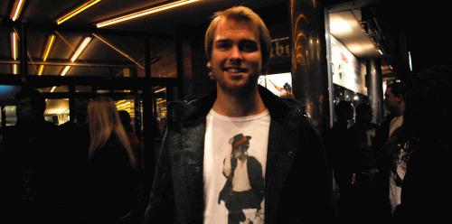 Jackson-fan Magnus Alexander Nikolaisen