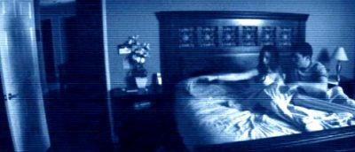 Kortklipt, Paranormal Activity