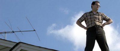 Michael Stuhlbarg (som Larry Gopnik). Stillbildsfoto: Wilson Webb