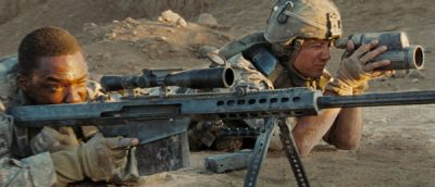 Jeremy Renner og Anthony Mackie i «The Hurt Locker»