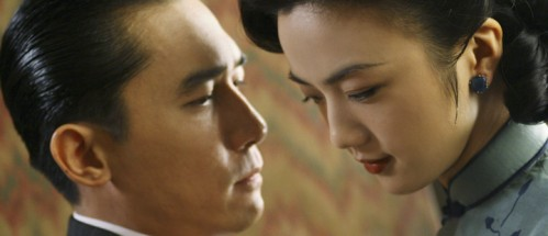 Tony Leung og Wei Tang i Ang Lees Lust, Caution fra 2007.