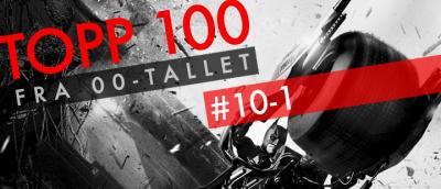 00-tallets beste filmer: 10-1