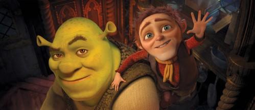 Fra Dreamworks' Shrek - lykkelig i alle sine dager