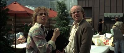 Samantha Morton og Philip Seymour Hoffman