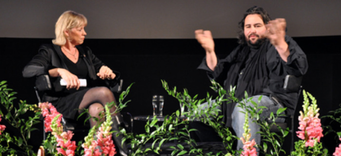 Hoyte van Hoytema i dialog med Stina Dubrowski