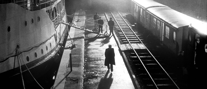 Still from The Man From London