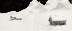 Skisse fra Petter Næss' «Comrade»