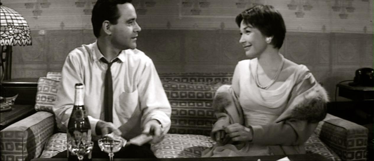 """Shirley Maclaine og Jack Lemmon i """"The Apartment"""""""
