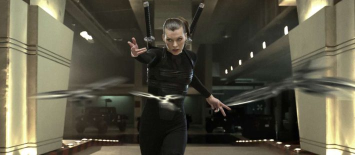 Milla Jovovich i Resident Evil: Afterlife