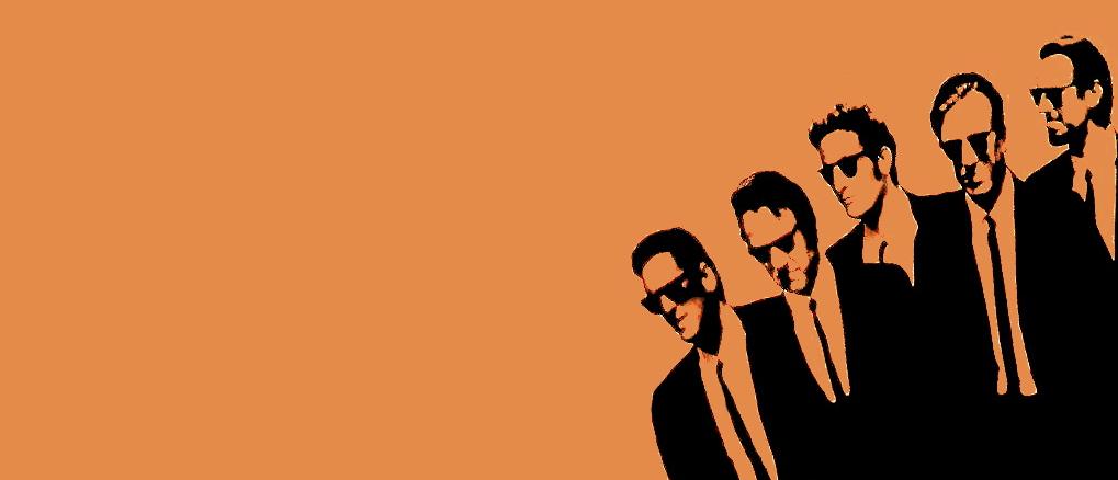 Ikonisk grafisk arbeide for Quentin Tarantinos «Resevoir Dogs»