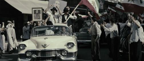 Demonstrasjon i Teherans gater, sommeren 1953