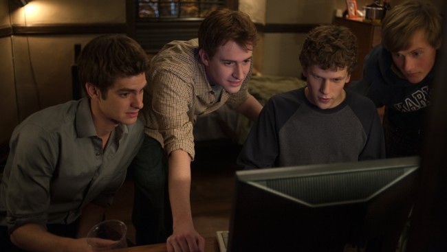 Fra David Finchers «The Social Network»