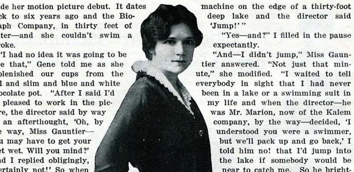 Filmpioneren Gene Gauntier – for 100 år siden