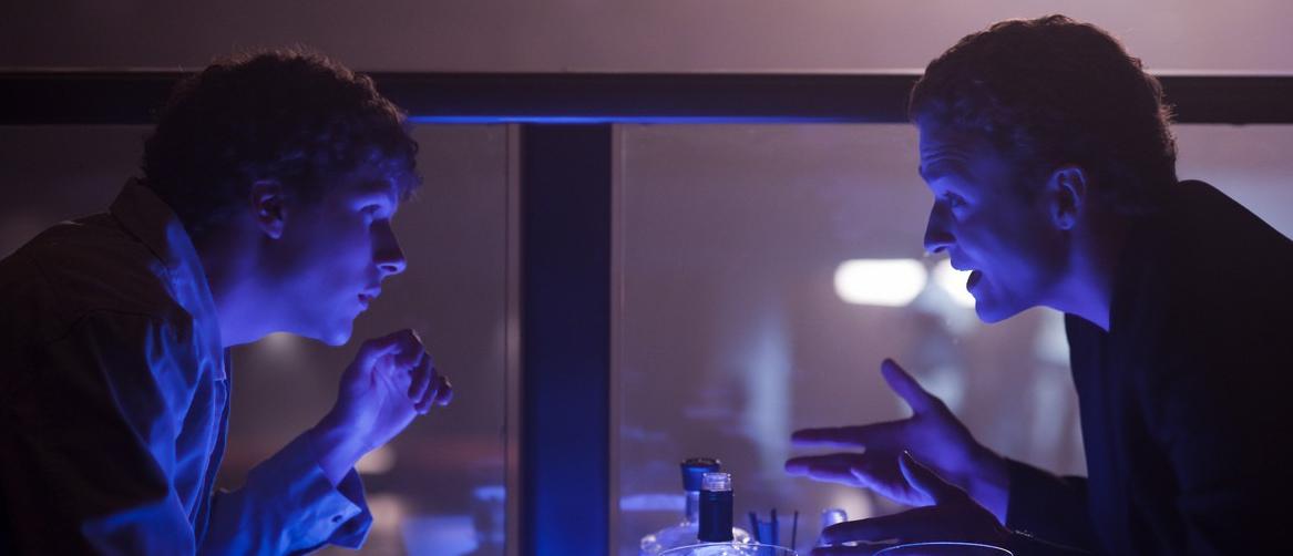 Jesse Eisenberg og Justin Timberlake i «The Social Network»