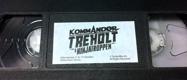 Vinn signert utgave av Ninjatroppen på VHS!