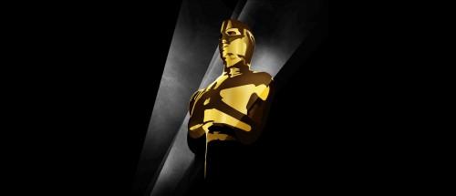 Et utsnitt av årets Oscar-plakat