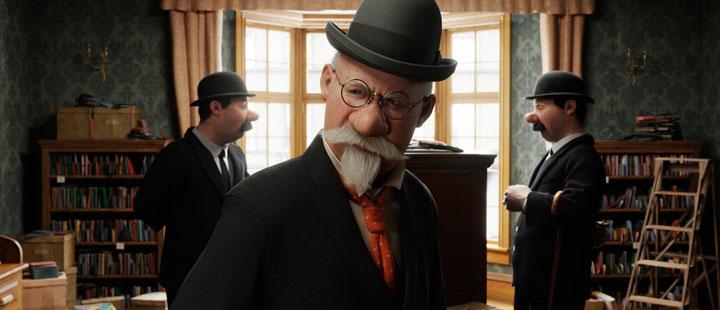 """Steven Spielberg og Peter Jackson's """"The adventures of TinTin: The Secret of the Unicorn"""" har premiere i desember."""