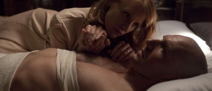 Ralph Fiennes og Jessica Chastain i «Coriolanus»