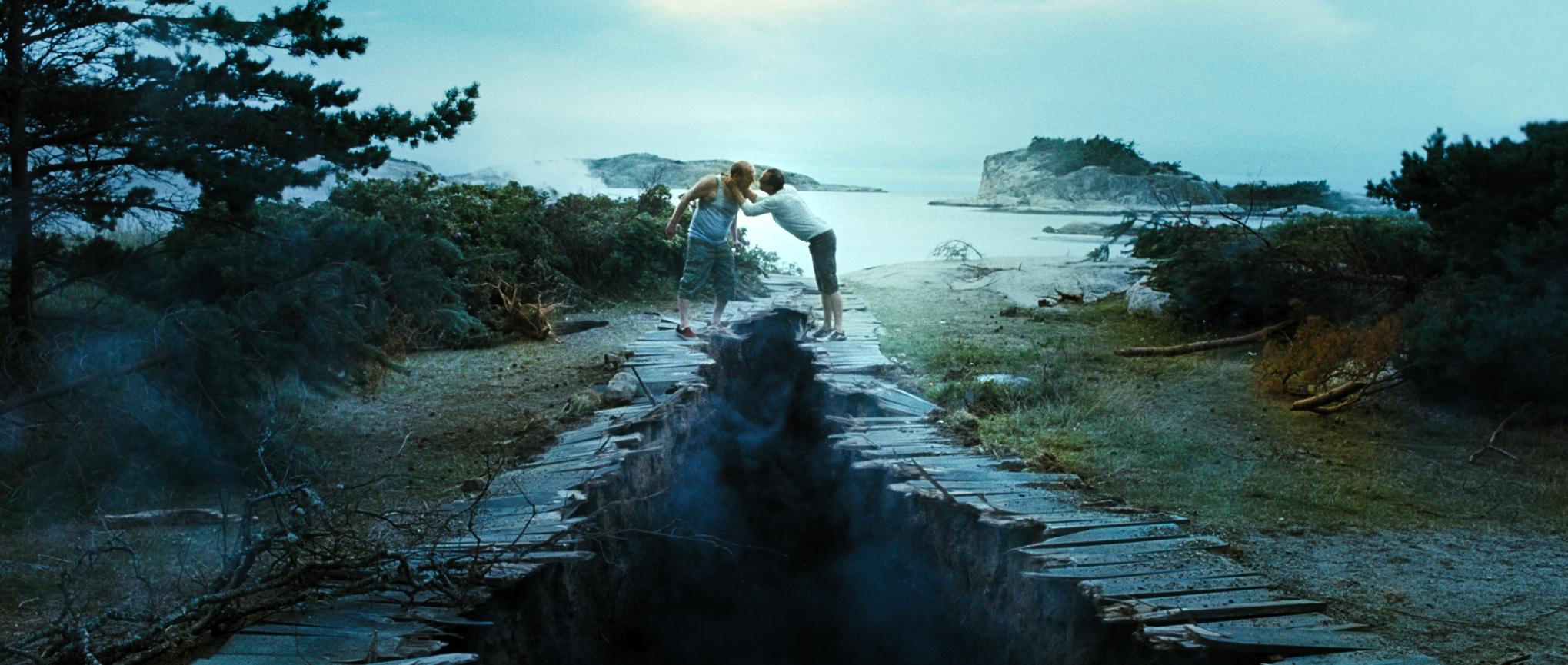 Ingar Helge Gimle og Jon Øigarden i «Mennesker i solen»