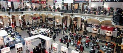 Et overblikk på hovedhallen i European Film Market