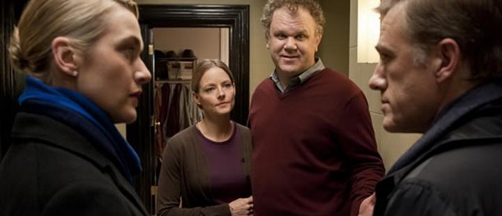 Kate Winslet, Jodie Foster, John C. Reilly og Christoph Waltz i «Carnage».