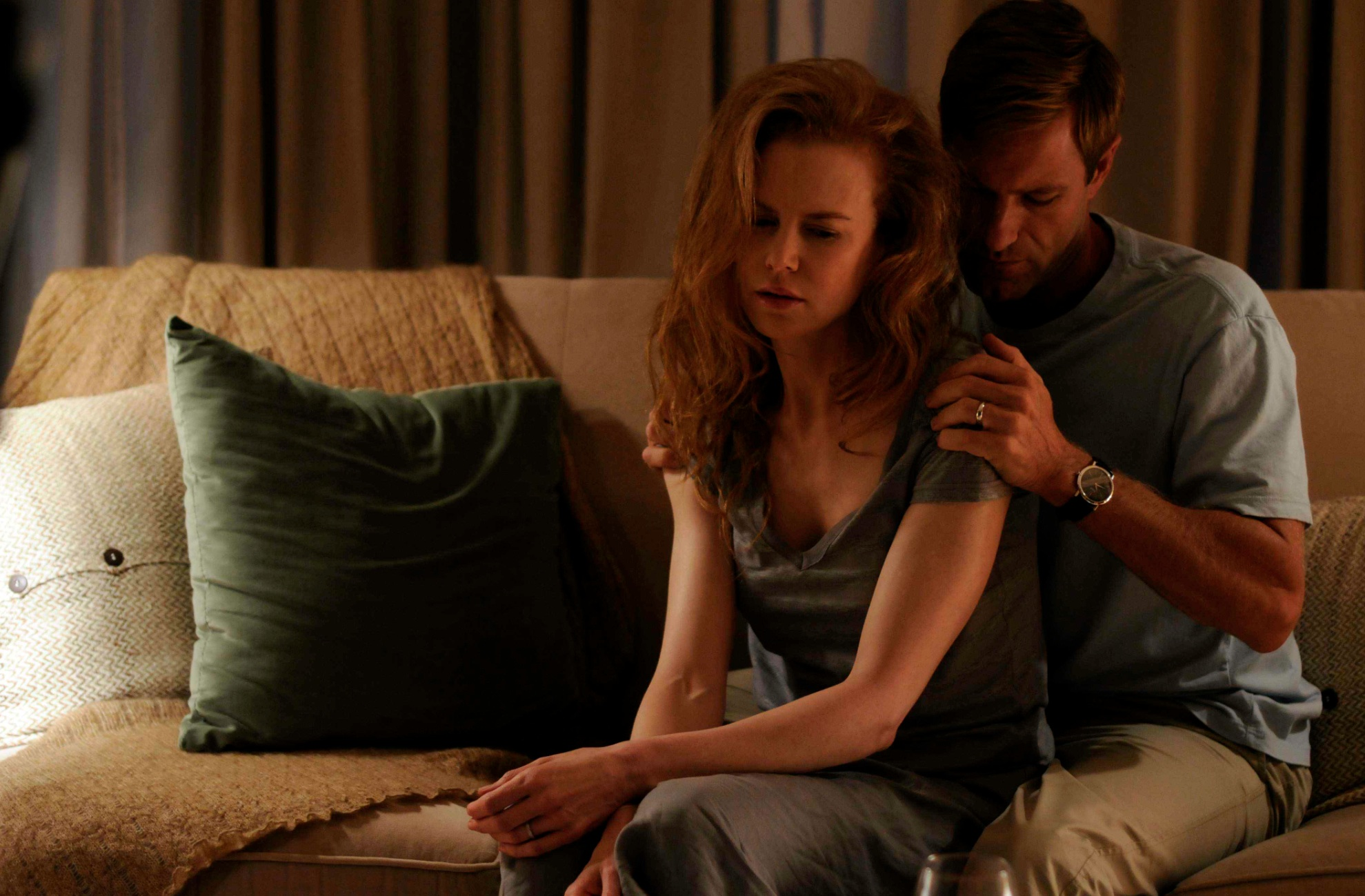 Aaron Eckhart og Nicole Kidman i «Rabbit Hole»