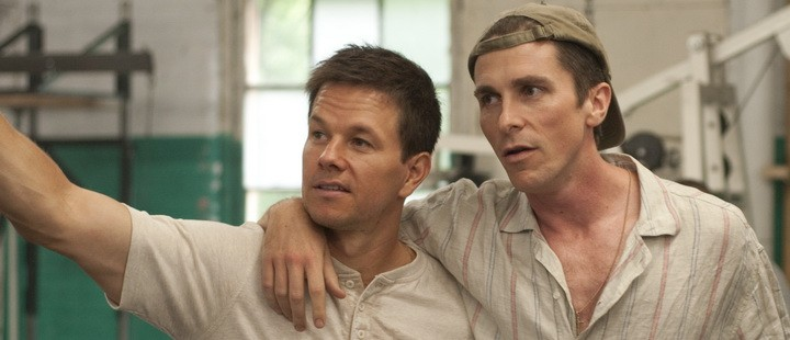 Mark Wahlberg og Christian Bale fra «The Fighter».