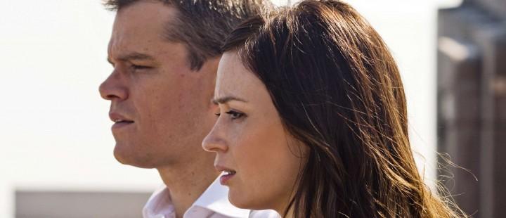 Emily Blunt og Matt Damon i «The Adjustment Bureau»