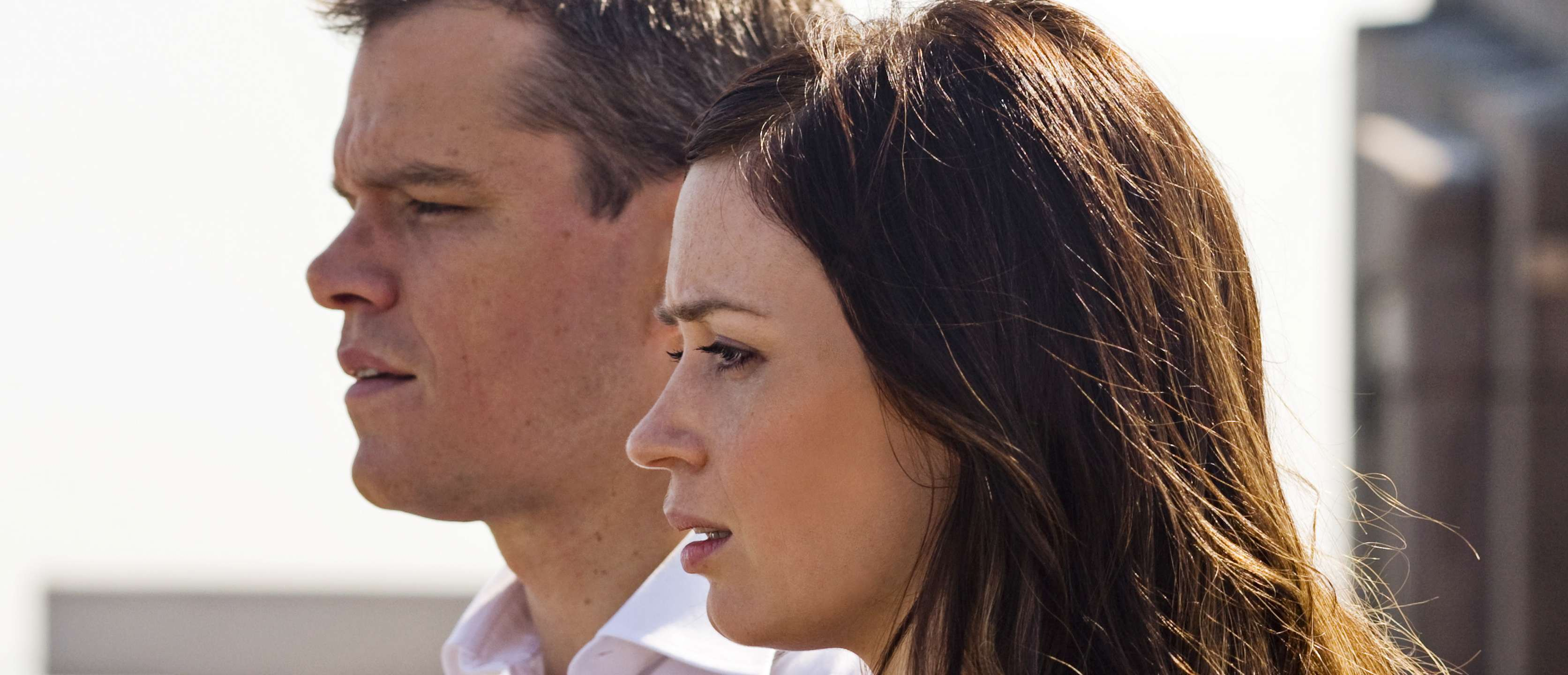 Emily Blunt og Matt Damon i «The Adjustment Bureau»