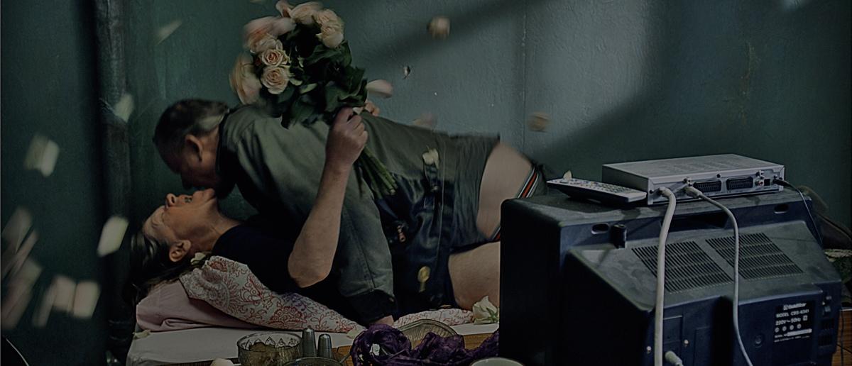 Jorunn Kjellsby og Stellan Skarsgård i «En ganske snill mann»