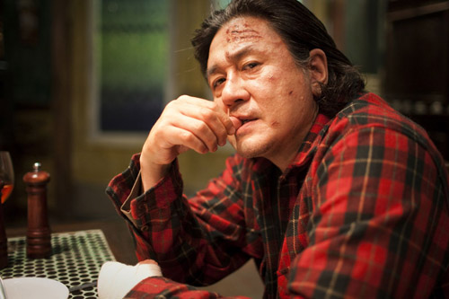 Den sør-koreanske skuespilleren Choi Min-Sik i et stillbilde fra filmen «I Saw the Devil»