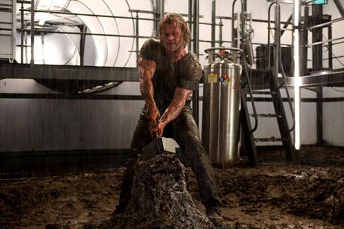 Stillbilde fra den amerikanske filmen Thor.