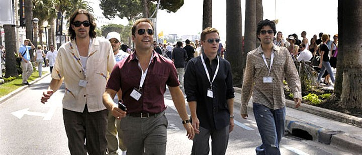 «Entourage»-karakterene på croisetten i episoden «The Cannes Kids».