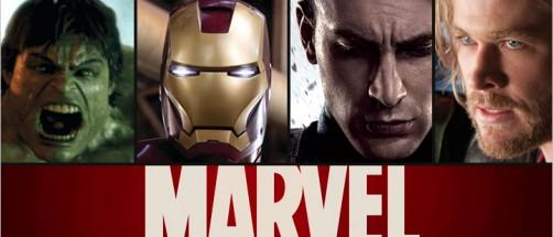 Hulken, Iron Man, Captain America og Thor.