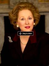 Meryl Streep som Margaret Thatcher