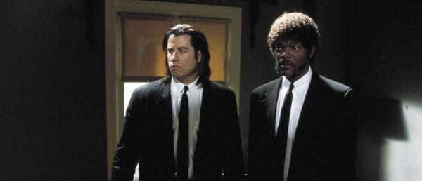 Stillbilde fra den amerikanske filmen «Pulp Fiction»