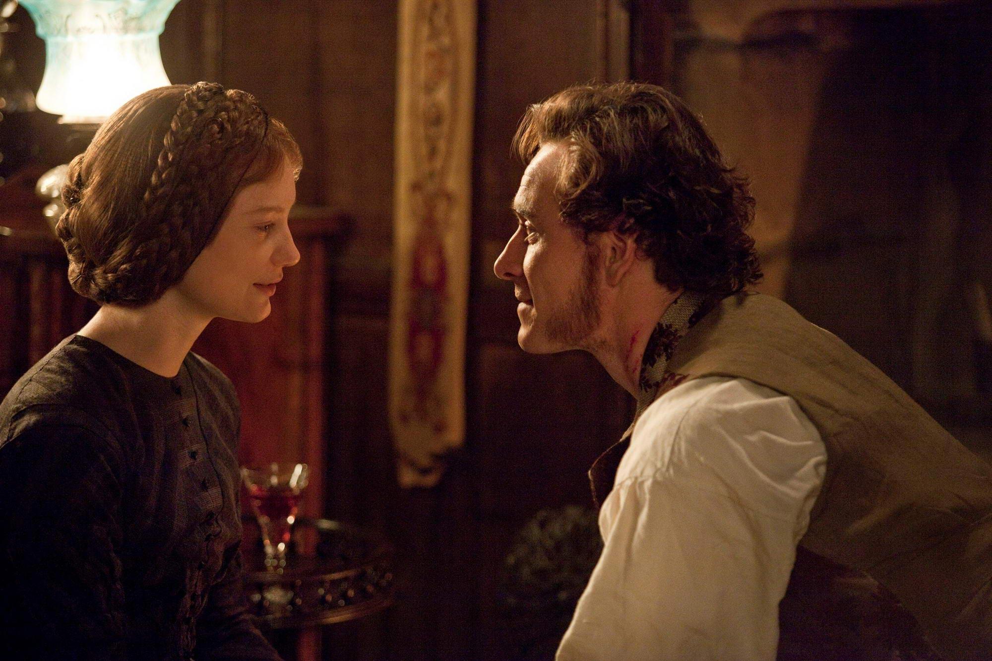 Mia Wasikowska og Michael Fassbender i <em>Jane Eyre</em>