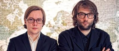 Regissørene av «Pushwagner» (2011): August B. Hanssen og Even Benestad  (Foto:  Carsten Aniksdal/Euforia Film)
