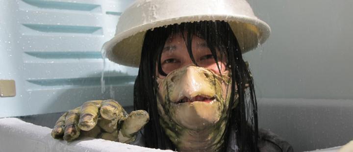 Stillbilde fra den japanske filmen «Underwater Love»