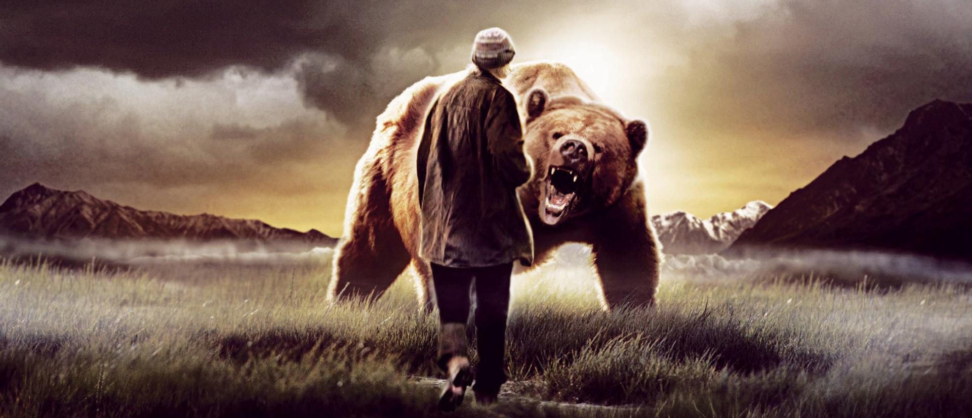 Konseptbilde fra filmen «Grizzly Man»