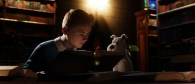Spielberg-eleganse i På eventyr med Tintin: Enhjørningens hemmelighet