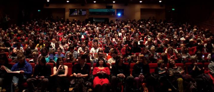 Publikum på TIFF 2012.