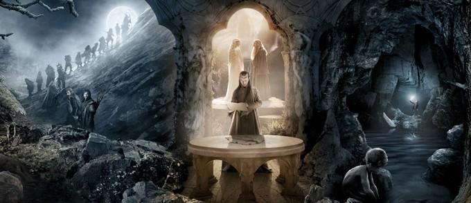 Massivt banner til Hobbiten: En uventet reise