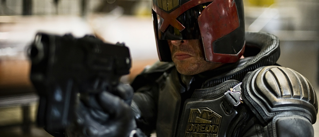 Karl Urban som Judge Dredd